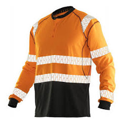 Hi Vis Long L/S  T-shirt...